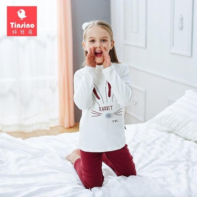 188a6ab45 Tinsino Children Girls Winter Pajamas Girl Cartoon Long Sleeve ...