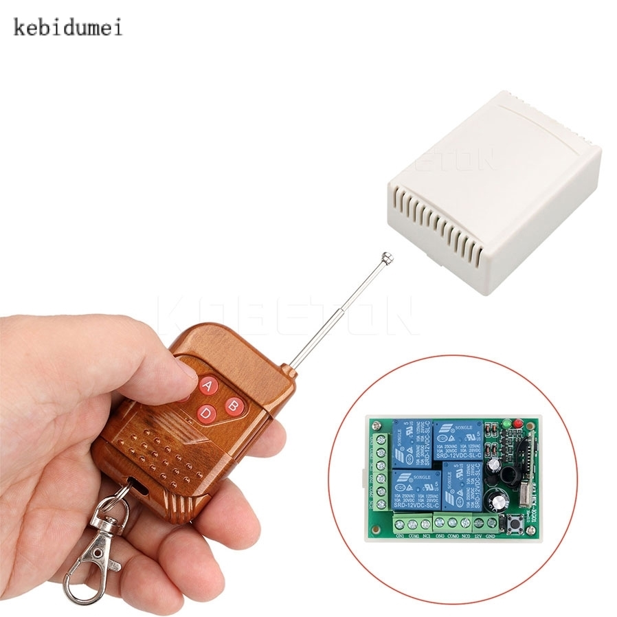 433mhz Universal Wireless Remote Control Receiver Module And Rf 4 Channel Transmitter Circuit Cy046 Buy Switch Dc 12v 4ch Relay With