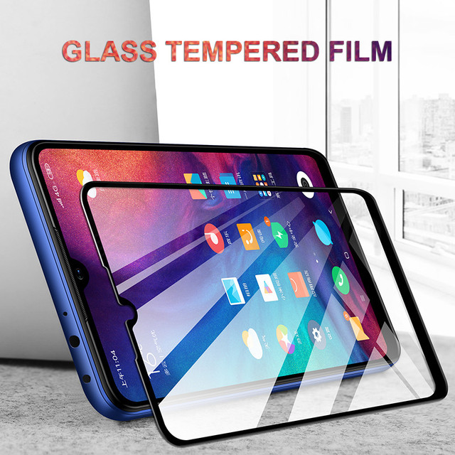 9D Protective Glass on the For Xiaomi Redmi 7 6 Pro 6A 5 Plus 5A S2 Note 5 5A 6 7 Pro Tempered Screen Protector Glass Film Case Phone Screen Protectors