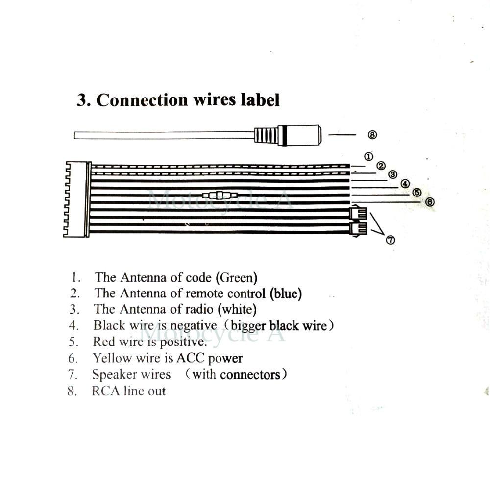motorcycle audio wiring wiring diagram new motorcycle stereo speaker wiring diagram [ 1000 x 1000 Pixel ]