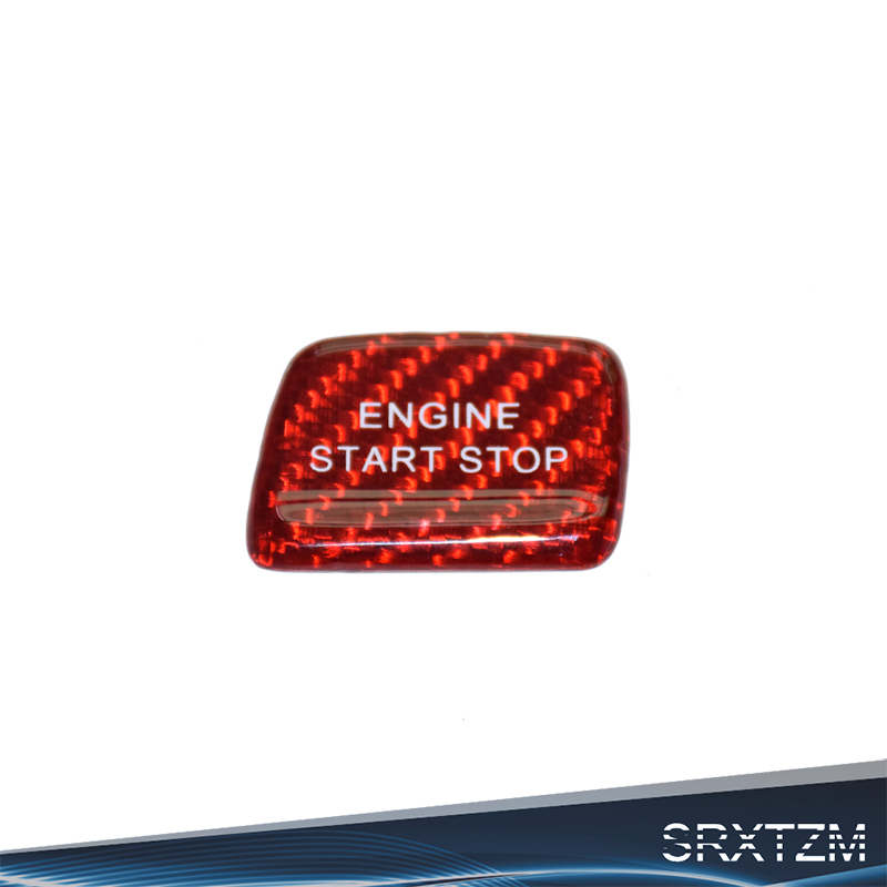 Exterior Accessories Srxtzm For Chevrolet Camaro 2016 Accessories Car Engine Start Stop Button Sticker Carbon Fiber Switch Button Cover Decoration Car Stickers