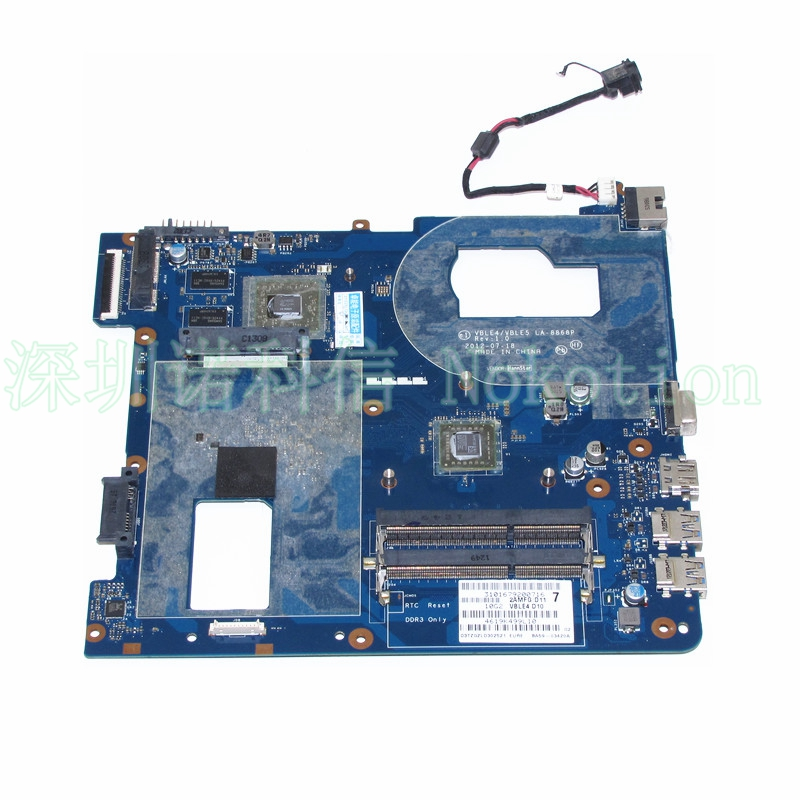 NOKOTION BA59-03420A VBLE4 VBLE5 LA-8868P For Samsung NP355E5C Laptop motherboard CPU Onboard DDR3 Full Test Good fit for samsung np350 np350v5c 350v5x laptop motherboard qcla4 la 8861p ba59 03541a ba59 03397a ddr3 hd 7600m gpu 100
