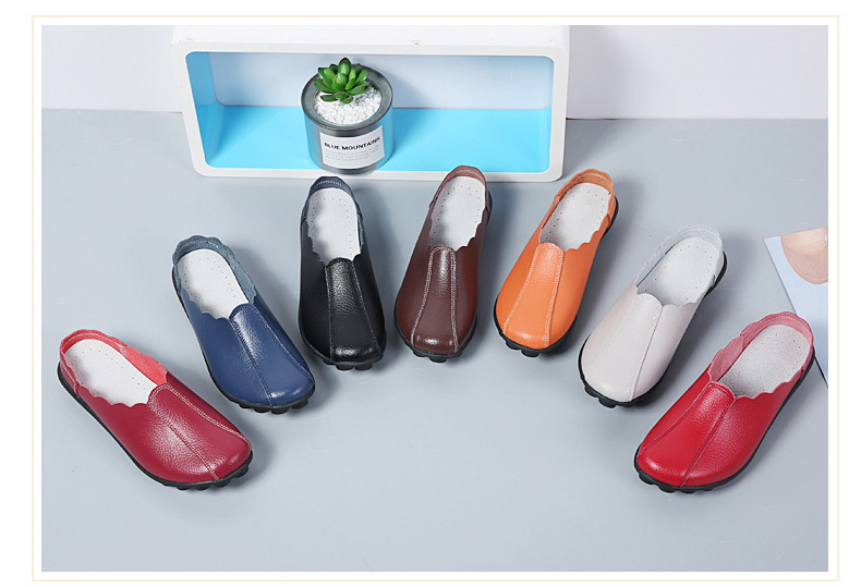 LL 982 Spring Autumn Women Loafers-2
