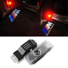 2X LED Car Door Welcome Light Projector Ghost Shadow Courtesy Light for BMW X1 X3 X5 E60 E90 F10 F30 E91 M3 M5 Z4 F01 E65 E92