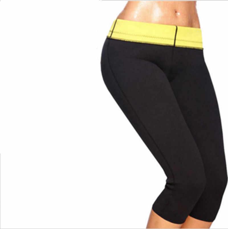Женская футболка из неопрена с эффектом пота для сауны, корректор живота, сжигание жира, потеря веса, фитнес-колготки, Корректирующее белье для похудения