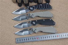 new tactical folding knife hunting camping survival pocket knife G10+steel handle hiking hand tools 4 types