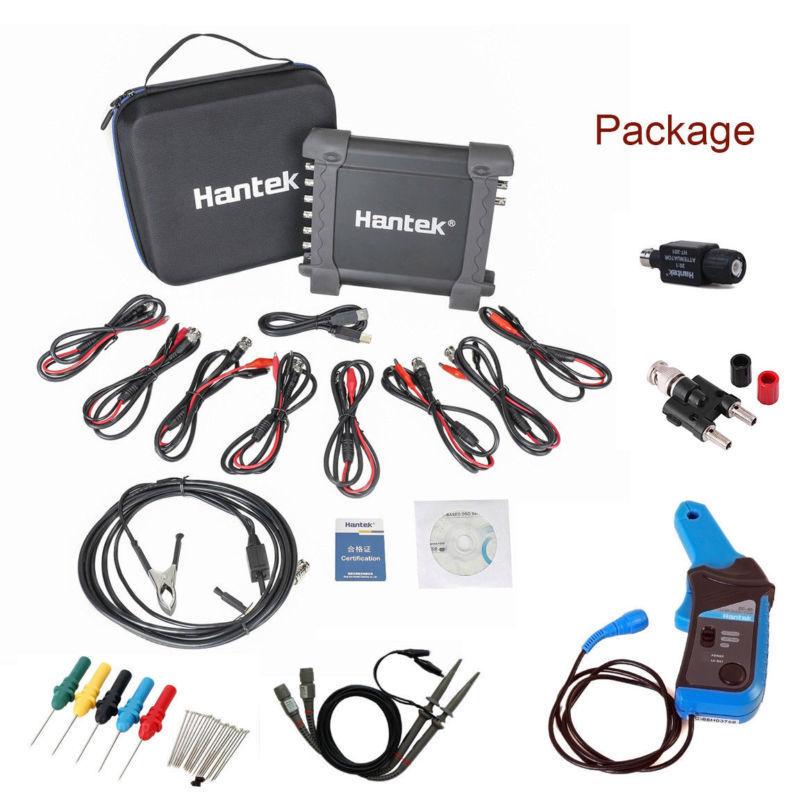 Gerador CC65 + 1008C Automotivo Osciloscopio Hantek Osciloscópio Digital Portátil USB 2 Canais Multímetro Osciloscópio