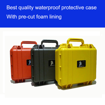 Tool case toolbox Instrument or meter case waterproof tool case protective equipment case whit foam liner 283*246*124 MM GL-2610