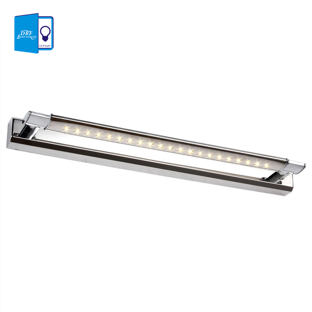 Free Shipping 5W LED Wall Lights SMD5050 Stainless Steel LED Mirror Lights Lamp AC110V/220V Bathroom Mirror Lights