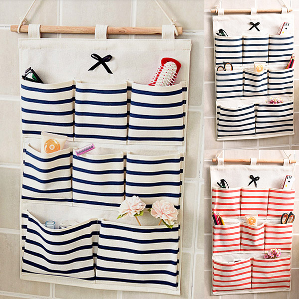 8 pockets hanging door wall mounted home clothing storage bags anizer china mainland .