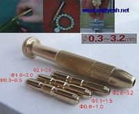 DHL/EMS 10 sets Brass Screwdriver for jewelry PCB Wood Nail Drill art charm piercing A7