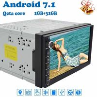 Car Radio Android 7 1 Stereo 2 Din Octa Core 7 Multimedia Player In Dash Head