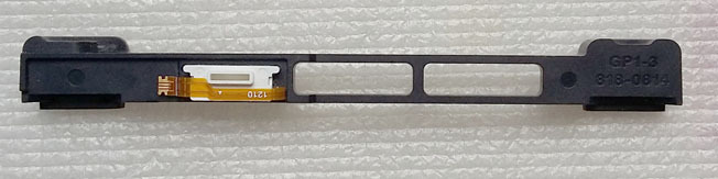 GP1-3 818-0814 Hard Drive/IR/Sleep Indicator/bracket for MBookPro Unibody 13 A1278 2011,Pulled from 821-1480-A 821-2049-A