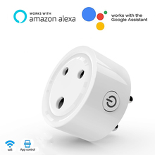 For India Wifi Smart Power Socket  ,Smart Wifi Socket  APP Remote Control Works with Amazon Alexa Google Home for Smart Life qiachip wifi smart home socket app remote control light switch work with amazon alexa google home for phone french plug socket