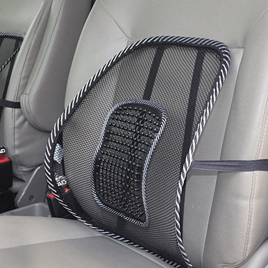 Siège de voiture Coussin Lombaire Soutient Chaise de Bureau Canapé Lombaire Frais Coussin De Massage Retour Brace Oreiller de voiture accessoires de voiture-style