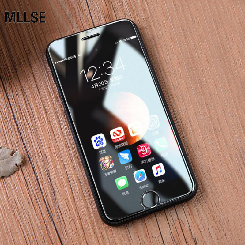 0.26mm Ultra-thin 9H Tempered Glass Screen Protector For <font><b>iPhone</b></font> <font><b>XS</b></font> MAX XR <font><b>XS</b></font> 5S SE 6S 7 8Plus HD Explosion-proof Protective <font><b>Film</b></font> image
