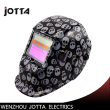 black skull  solar auto-darkening filter  welding mask/helmet/welder cap/face mask for welding machine