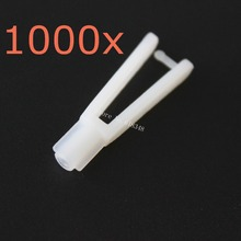 1000pcs Lot Nylon Clevis 2x29 mm For RC Model Airplanes Parts Aircraft Aeromodelling Replacements