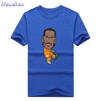 2017 Didier Drogba cartone animato T-Shirt Tees T SHIRT da Uomo 100% cotone per costa d'avorio fans regalo 0311-25