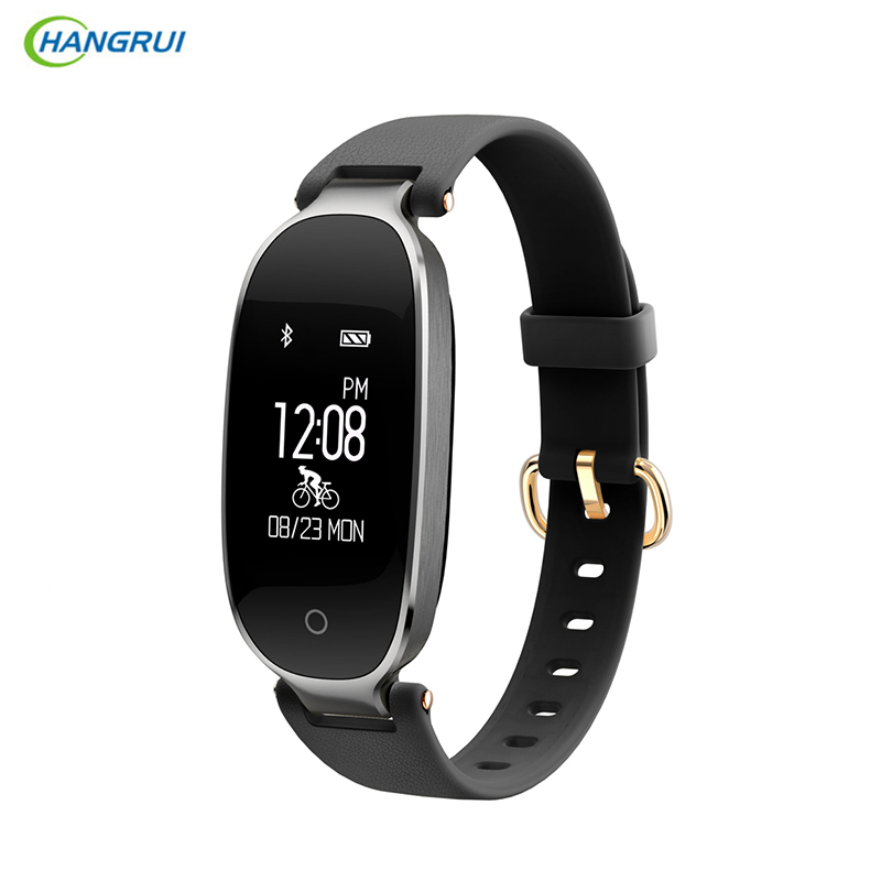 HANGRUI S3 Women Sport Bluetooth Smart Band Wristband Fitness Tracker IP67 Waterproof Smart Bracelet Dynamic Heart