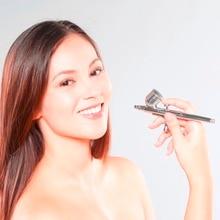 Single Action Airbrush Kit 0 3mm Needle Air Brush Spray Gun Body Paint Aerograph Brush Nail