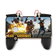 PUBG mobile controller game hand handle for mobile phone trigger fire button target eat chicken game L1 R1 shooting joystick For handle shortcut keys to assist mobile cellphone shooting artifact auxiliary game button for eat chicken game