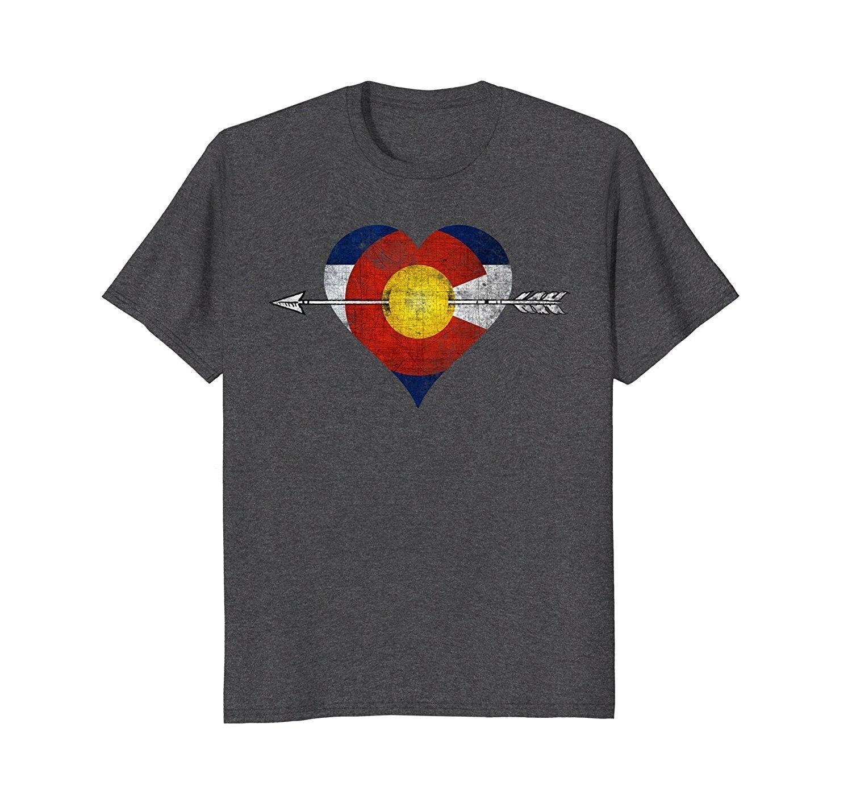 2019 Nieuwe Zomer Slanke T-shirt Liefde Colorado