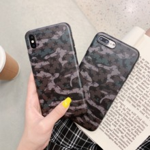 Minimum Camouflage element Fashion Grind Arenaceous feel IMD case For iphoneX XR XS XMax Simple case for iphone6 6s 7 8 Plus леггинсы minimum р xs int