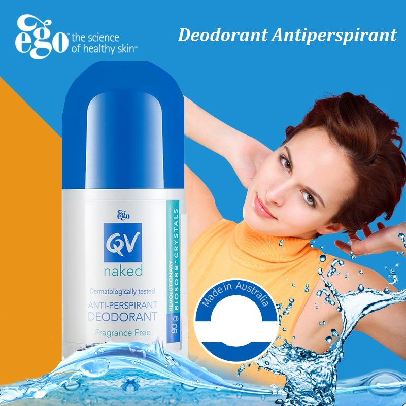 Australia QV Anti Perspirant Roll on Deodorant Stay Cool Dry with Sensitive skin Freshness Free From Fragrance