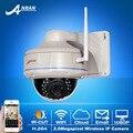 Fixa 1080 P 2.0 Megapixel HD Vandalproof Dome Câmera de CCTV 30IR WIFI H.264 Rede Sem Fio Ao Ar Livre Câmera de Vigilância de Segurança