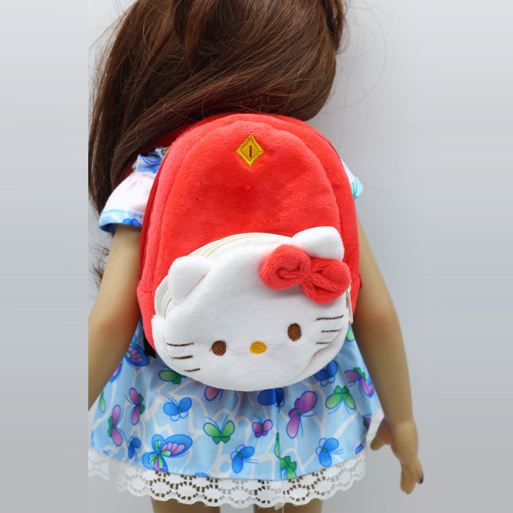 1PCS Cat doll bag for 18 inch american girl doll accessories Backpack childrens gift toy bags