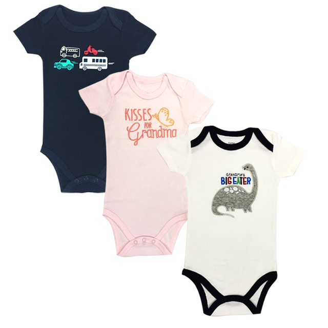 7e300eb45448 Newborn Girl Boy Baby Clothes Cute Cartoon Cotton Short Sleeve Baby Rompers  summer jumpsuit romper cool