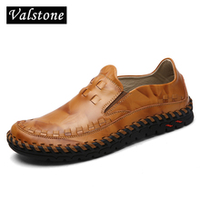 Valstone 2017 Genuine Leather shoes Men Retro Derby shoes Quality Full Handtailor natural rubber bottom hand made zapatos hombre
