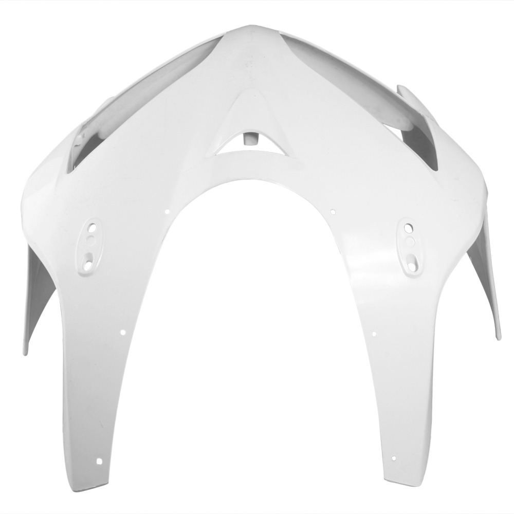 For Honda CBR600RR Upper Front Nose Fairing Cowl 2005 2006 Motorbike Part Accessories Injection Mold ABS Plastic Unpainted White upper front fairing cowl nose fits for yamaha 2004 2005 2006 yzf r1 injection mold abs plastic