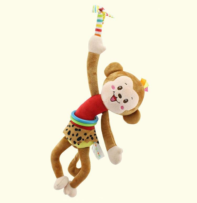 Cute Cartoon Monkey /Frog /Cat /Dog Infant Baby Hanging ...
