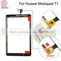 100% Тестирование Для HuaWei Mediapad T1 10 T1-A21 T1-A21L T1-A22L сенсорный экран стекла сенсорная панель дигитайзер