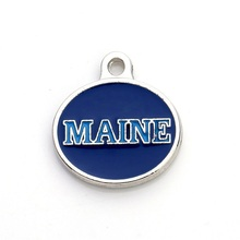 Buy college pendants and get free shipping on aliexpress 10pcs double sided enamel maine black bears college sport mozeypictures Image collections