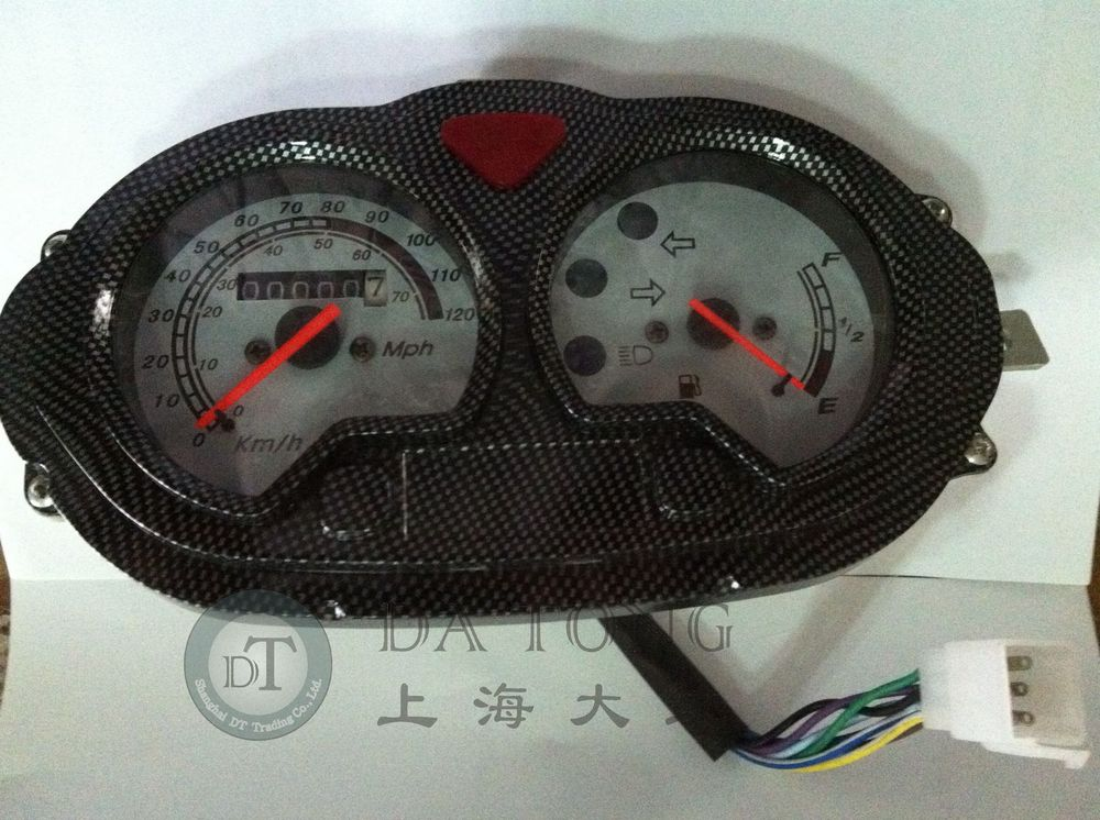 Scooter Speedometer For Chinese B08 B09 Series Meter QJ 50cc Keeway 80cc Scooter Motorcycle Bike ATV Moped Spare Parts rear disc hydraulic brake caliper for qj keeway chinese scooter honda yamaha kawasaki motorcycle atv moped spare parts