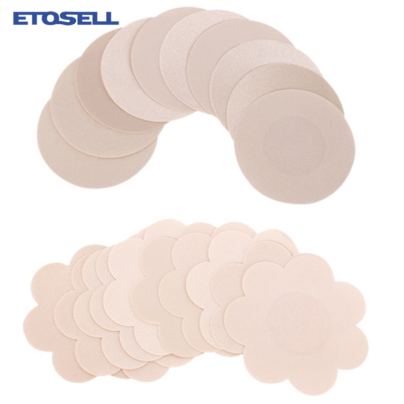 10 Pcs Women Sexy Nipple Pasties Nipple Covers Women Adhesive Breast Petals Disposable Pads Female Stickers For Nipples On Chest