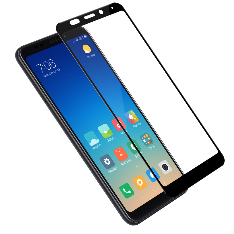 Redmi Note 5 glass screen protector NILLKIN 9H Full cover 2.5d Tempered Glass Screen Protector for xiaomi redmi 5 plus Film 5.99