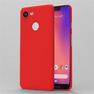 Image 3 - Google のピクセル 3 ケース Pixel3 ケースとプロテクターシェルソフト Pp 超薄型電話バックカバー Coque