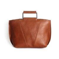 Натуральная кожа Сумка через плечо винтажная воловья бейсбольная перчатка кожаная спортивная сумка на плечо для женщин