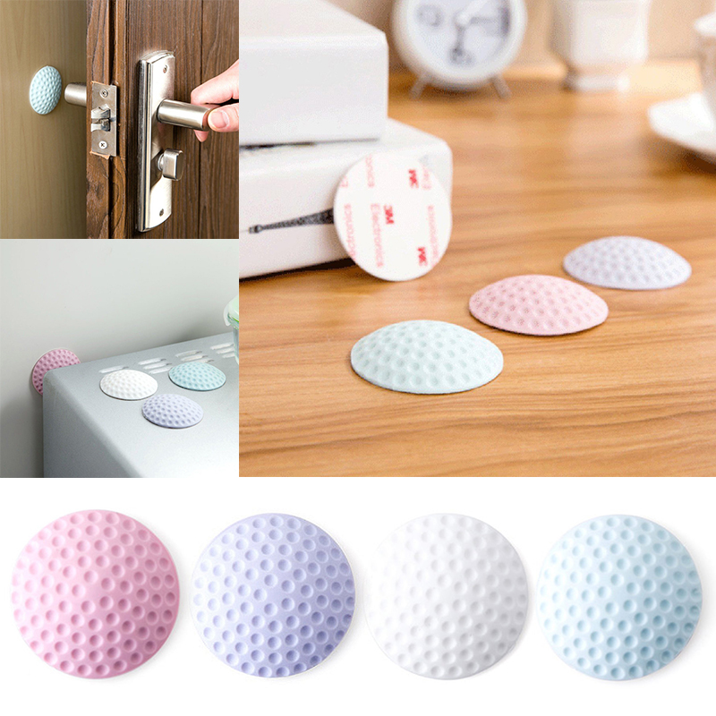 1PCS Silicone Self Adhesive Wall Protectors Door Handle Bumpers Buffer Guard Stoppers Silencer Crash Pad Doorknob Lock1PCS Silicone Self Adhesive Wall Protectors Door Handle Bumpers Buffer Guard Stoppers Silencer Crash Pad Doorknob Lock