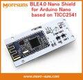 Fast Free Ship BLE4.0 Nano Shiled bluetooth 4.0Nano extension board for Arduino Nano accessories TICC2541