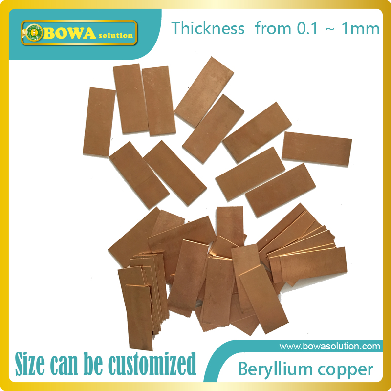 Beryllium copper (BeCu), also known as copper beryllium (CuBe), beryllium bronze and spring copper C17200 excellent metalworking