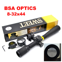 BSA OPTICS 8 32x44 AO Mil Dot Rifle Scope Side wheel Parallax Adjustment Riflescope Front Sight For Sniper Rifle Hunting Caza