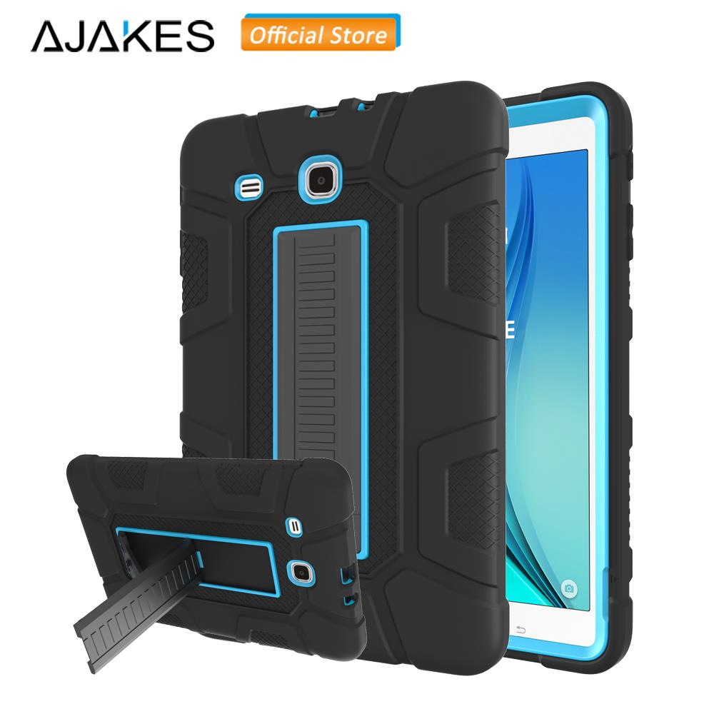 Case For Samsung Galaxy Tab E 9.6 SM-T560 SM-T561 Kids Kickstand Hybrid Heavy Duty Shockproof 3-Layer Full Body Protective Cover дырокол deli heavy duty e0130