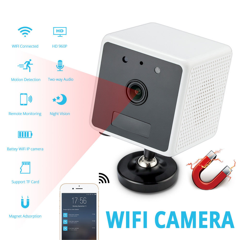 HD 960 p IP Kamera Mini Wifi Kamera App Control Wifi Mini Kamera 2 Weg Intercom Nachtsicht Lange Batterie leben Baby Kamera
