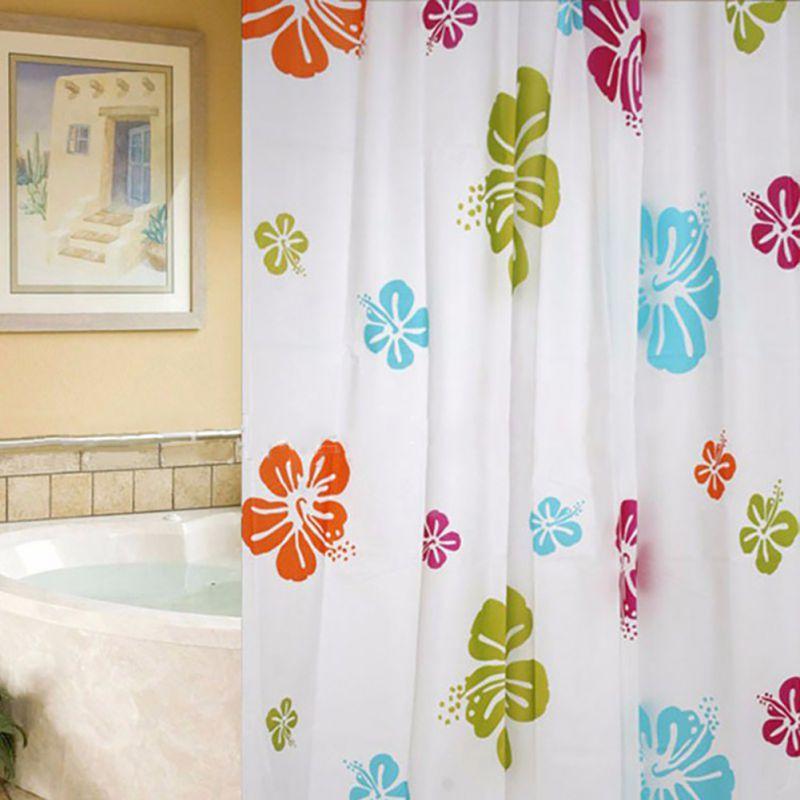 Łazienka Zasłony prysznicowe Wodoodporna powłoka PEVA Pleśni - Artykuły gospodarstwa domowego - Zdjęcie 5