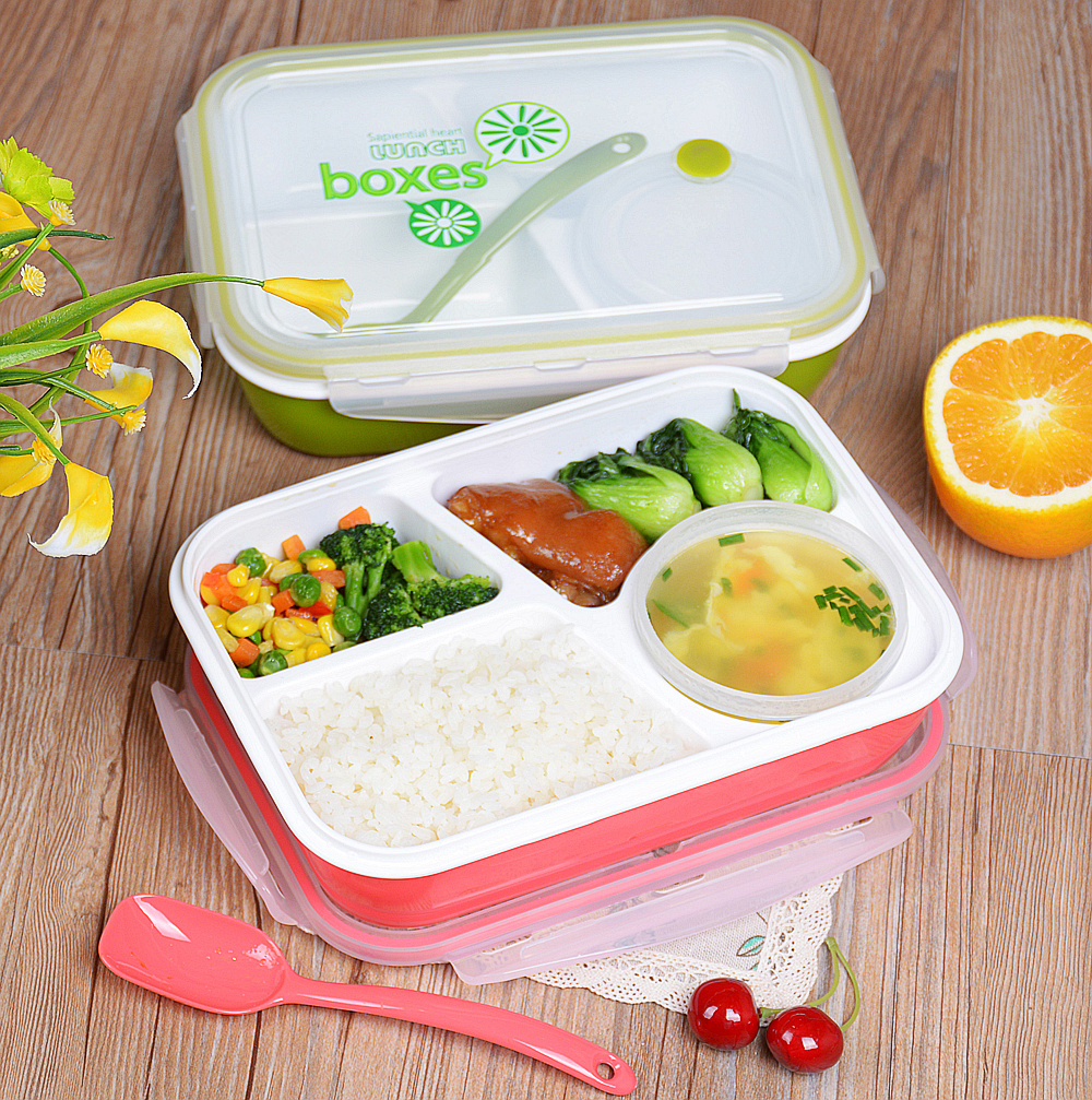 wholesale retail creative japanese bento lunch box microwave bento box container for food lunch. Black Bedroom Furniture Sets. Home Design Ideas